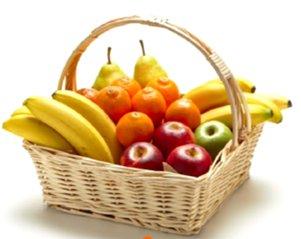 Obstkorb Einfacher Mix 40 Portionen
