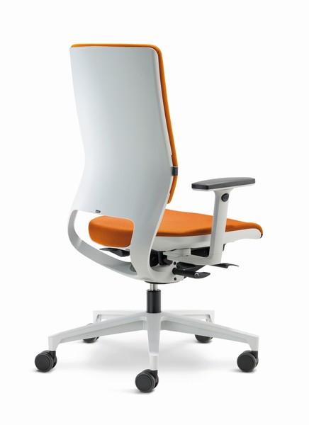 Klöber mer98 6006329 weiß Orange hinten
