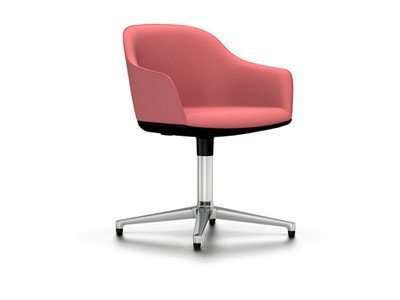Vitra Softshell Chair Viersternfuss