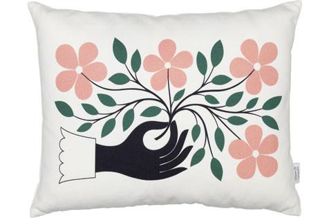 vitra kissen graphic print accessoires designshop. Black Bedroom Furniture Sets. Home Design Ideas