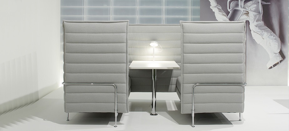 vitra alcove cabin highback 2 sitzer sofa lounge designshop streit inhouse. Black Bedroom Furniture Sets. Home Design Ideas