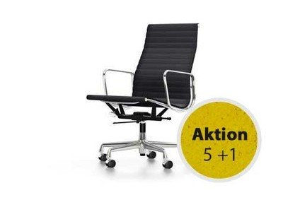 Vitra Aluminium Chair EA 119 Hopsak