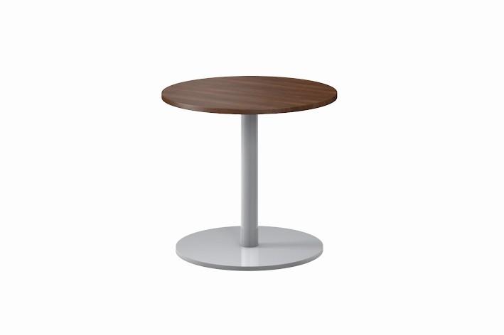Assmann pontis beistelltisch rund tische designshop for Beistelltisch nussbaum rund
