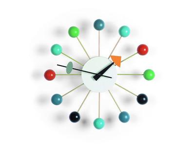Vitra Wall Clock Ball