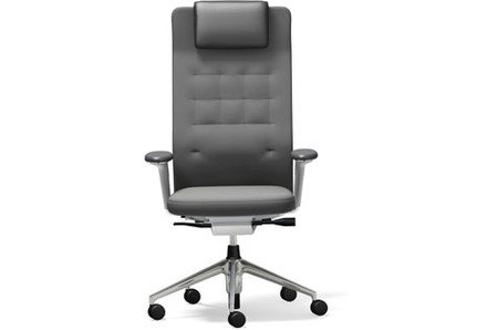 Vitra ID Chair TrimL poliert 3D plano dimgray