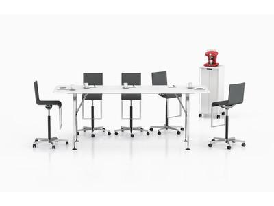 Vitra Ad Hoc High Meeting Table