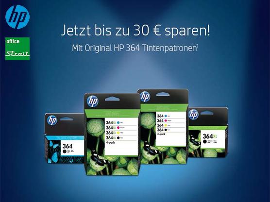 HP Cashback für 364Tinte