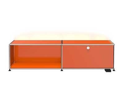 USM E TV/Hi-Fi-Möbel M19 mit dimmbarem Licht