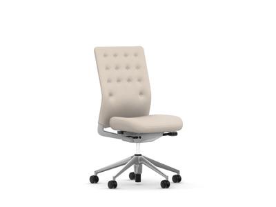 Vitra ID Chair ID Trim ohne Armlehnen Stoffbezug Plano pergament/cremeweiss