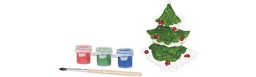 Malen Sie einen Weihnachtsbaum Gratis