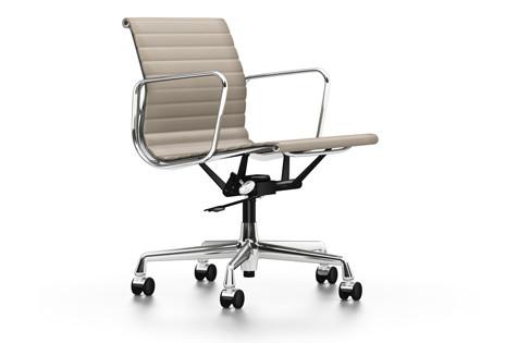 vitra aluminium chair ea 117 leder b rost hle designshop streit inhouse. Black Bedroom Furniture Sets. Home Design Ideas