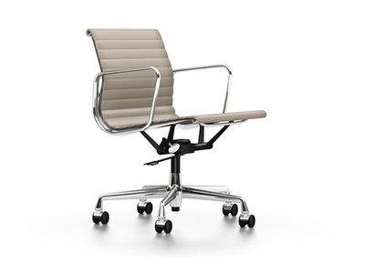 Vitra Aluminium Chair EA 117 Leder