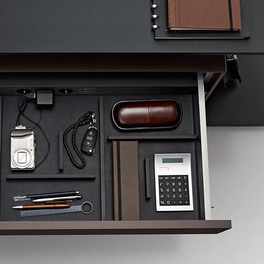 walter knoll communication desk tische designshop. Black Bedroom Furniture Sets. Home Design Ideas