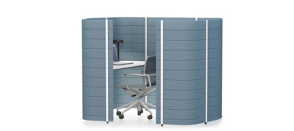 Vitra Workbay Focus 1 medium - Tische - Designshop Streit inhouse