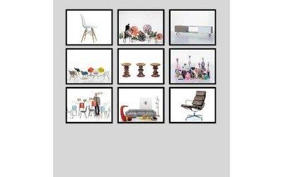 Online-Shop mit Design-Möbeln