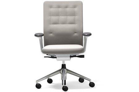 Vitra ID Chair Trim UG poliert Plano Stone