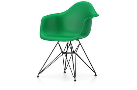 Vitra Platik Armchair DAR UG BDbesch. classic grün