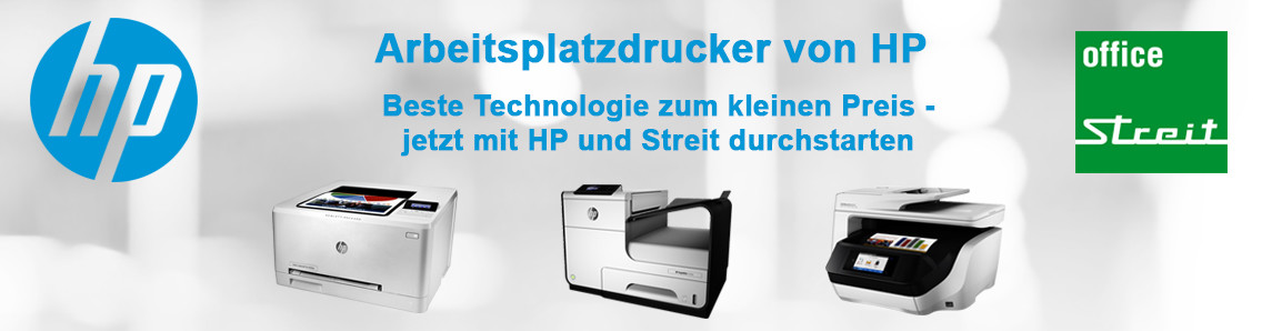 HP Arbeitsplatzdrucker