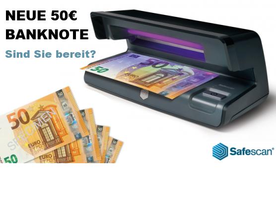 Safescan Geldscheinprüfgerät 50