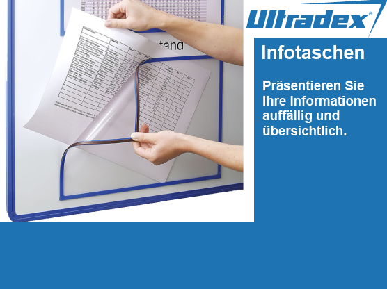 Ultradex Infotaschen